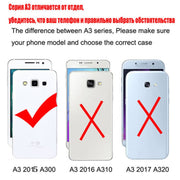 New Thick Dynamic Liquid Phone Cases For Samsung Galaxy A3 2015 Version A300 A300F A300FU Soft Silicon Back Cover Sand Capa Cup