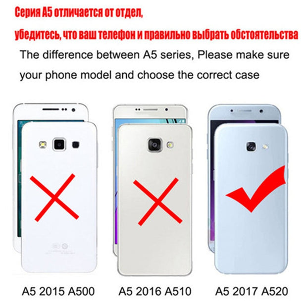 New Thick Dynamic Liquid Phone Cases For Samsung Galaxy A5 2017 Version A5(7) A5200 A520F Soft Silicon Back Cover Sand Capa Cup