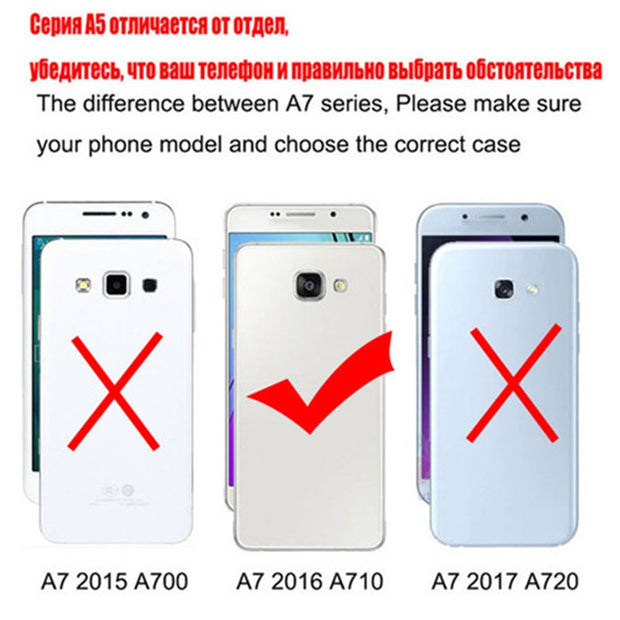 New Thick Dynamic Liquid Phone Cases For Samsung Galaxy A7 2016 A7(6) SM- A7100 A710F A710M A710 A710X Soft Silicon Back Cover
