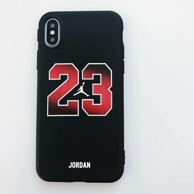 14bd8f23d12d37 New Bull Jordan 23 Fly Man Soft Silicon Cover Case For Iphone 6 6S S P