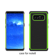 "Newest For Samsung Galaxy Note 8 6.3"" N950F Heavy Duty Silicon Armor Case Hybrid Shockproof Hard Rubber Case For Samsung Note 8"