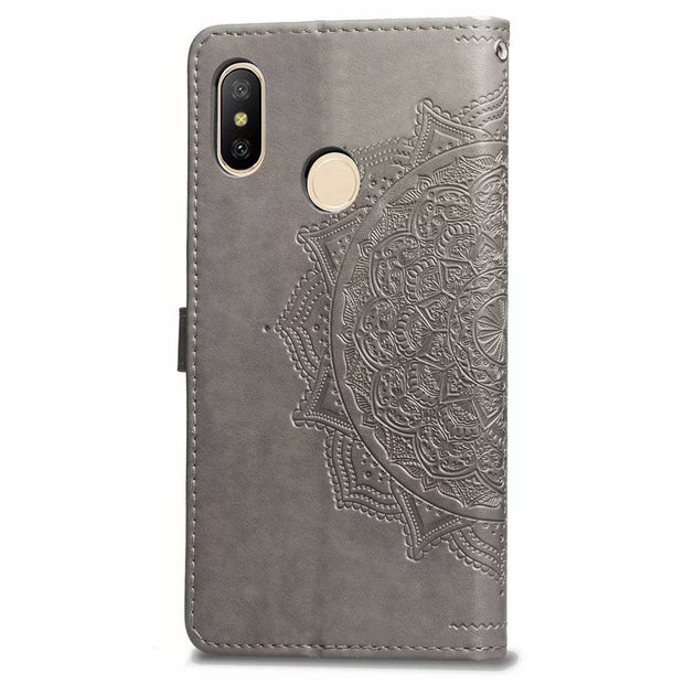 Note 5 Pro Case On For Xiaomi Redmi Note 5 Pro Case Flip Leather 3D Mandala Flower Case For Redmi Note 5 Pro Case Cover Coque