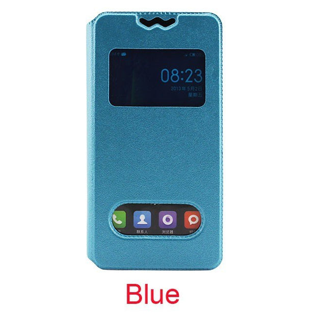 OnlyCare Alcatel One Touch Idol 2 Mini Case, Universally Flip PU Leather Phone Cases For Alcatel One Touch OT-6016X Idol 2 Mini