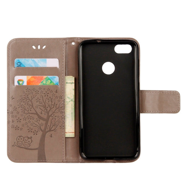 P9 Lite Mini Case Cover Flip PU Leather Case For Huawei P9 Lite Mini Case Huawei P9 Lite Mini Funda Phone Bag Cover
