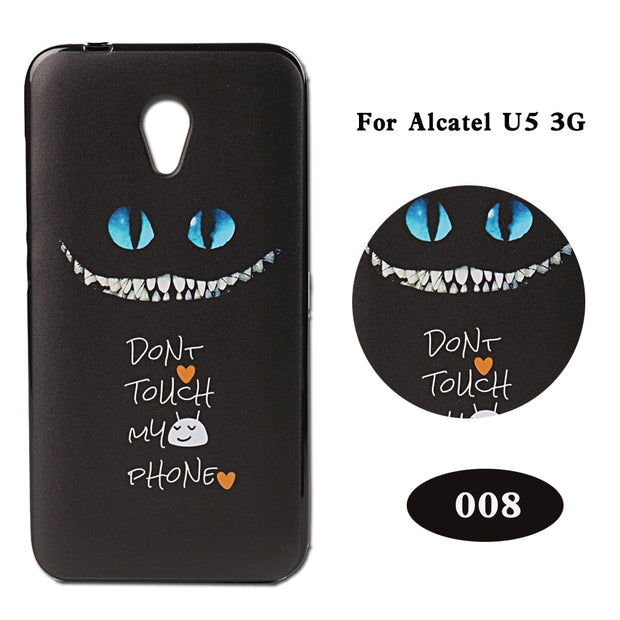 PCDIYGOBING Soft TPU Cover FOR Alcatel U5 3G 4047D 4047 /U5 4G 5044 5044D /U5 HD 5047 5047D Funda Case For Alcatel U5 3G 4G HD