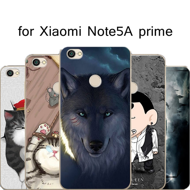 Pattern TPU Case For Xiaomi Redmi 5 5A 5 Plus Mobile Case For Xiaomi Note 5A 5 Pro 5A Prime Cover Mi 8 SE Mi8 Explorer