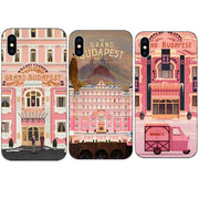 coque iphone 8 the grand budapest hotel