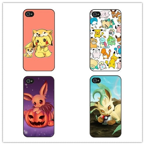 Pokemon Kawaii Pokeball Case For LG G2 G3 G4 G5 HTC One X Max M7 M8 M9 M10