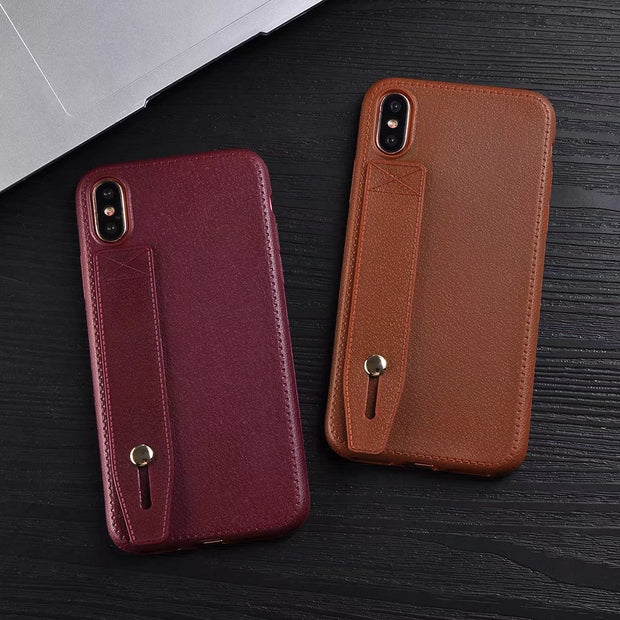 Pop Leather Bumper For Iphone 6s 6 7 8 Plus SE 5 5S Case Skin Soft Thin Fundas Cover Shockproof For Iphone X Case Prevent Drop