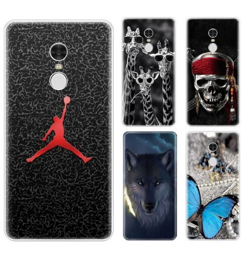 Redmi Note 4X Case Redmi Note 4 Silicone Cartoon Soft TPU Back Cover Case For Xiaomi Redmi Note 4 Global Version