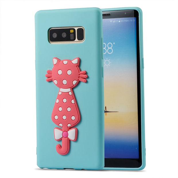 SM-N950FD Case For Samsung Galaxy Note8 Note 8 Baikal SM-N950F SM-N950F/DS N950F N950F/DS N950FD Phone Cover TPU Frame 3D Relief
