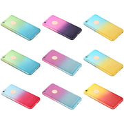Shell Coque Fundas High Quality Clear For IPhone Phone Case PC Cover Case Top Quality Gradient Slim Thin Hard