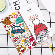 ShuiCaoRen Shockproof Silicone Case For ZTE Blade A520 Cute Cartoon Cat Pig Phone Cover Bag For ZTE BA520 Cases