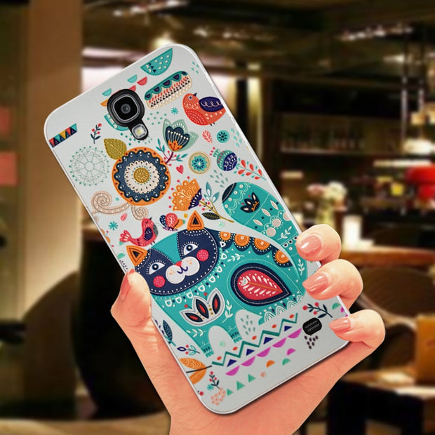 ShuiCaoRen Silicone Case For Samsung Galaxy Mega2 G7508Q Anti-knock 360 Full Protection TPU Cover For Samsung Mega 2 Phone Case