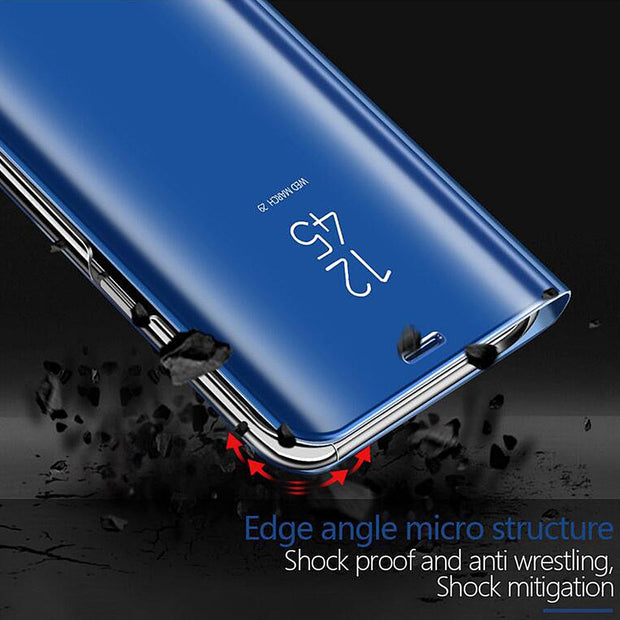 Smart View Mirror Case For Samsung Galaxy S9 S8 Note 8 A5 J5