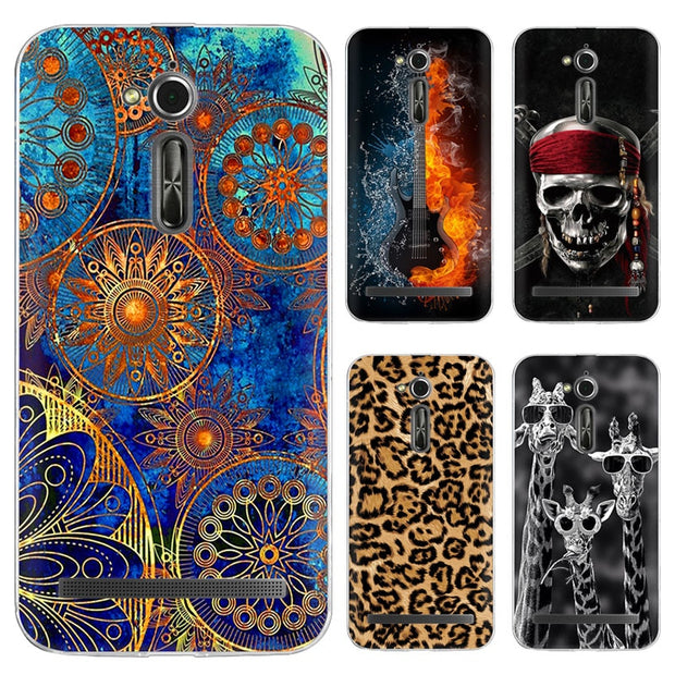 Soft Case For ASUS ZB500KL New Soft Silicone TPU Back Case Coque For ASUS Zenfone Go ZB500KL ZB500KG Phone Cases Cover 5.0 Inch