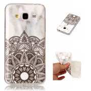 Soft Case For Samsung Galaxy J3 2015 2016 J310 Mable Pattern Back Phone Cover For Fundas Samsung J3 J310 Silicone Capinha Etui
