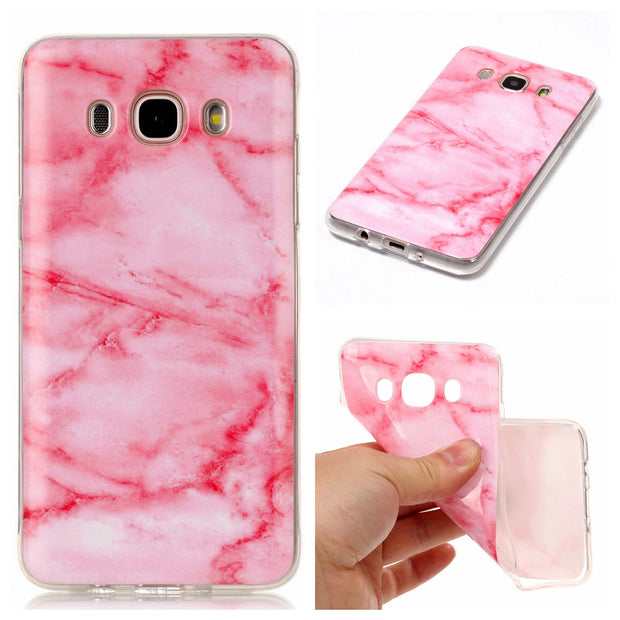 Soft Case For Samsung Galaxy J5 2016 J510 Abstract Painting Marble Caser For Funda Samsung J5 J510 Silicone Case Capinha Etui