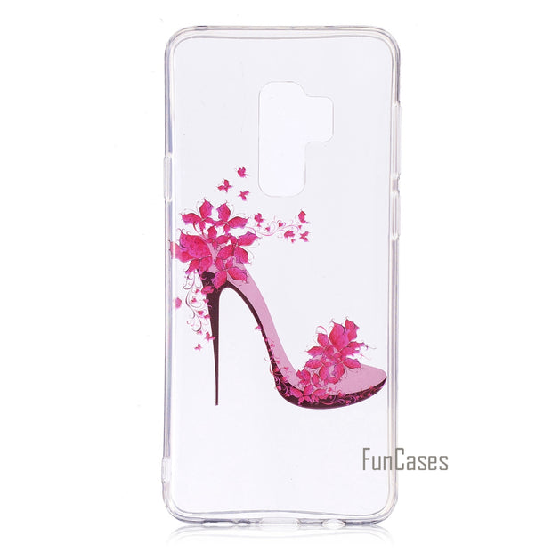 Soft Highly Transparent TPU Cover For Samsung Galaxy S9 Plus Case Animal Pattern Animal Fruit Pattern For Samsung Galaxy S9plus