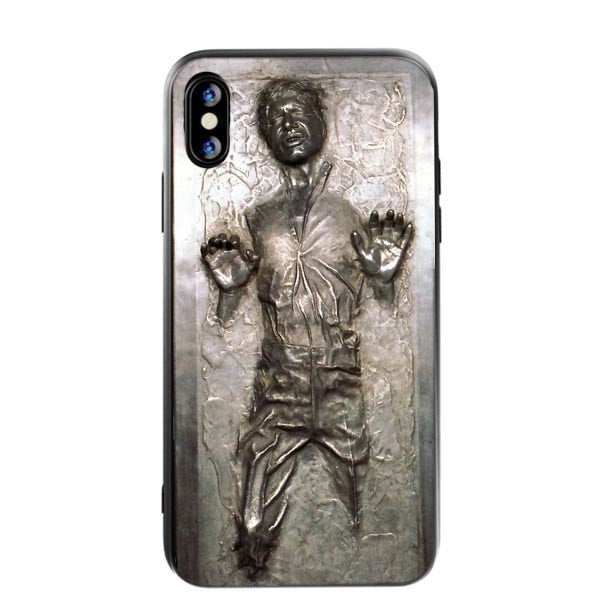 Star Wars R2D2 Han Solo Frozen In Carbonite Cool Watercolor Soft TPU Phone  Case For Iphone X XS SR XS Max 5 5S SE 6 6S 7 8 Plus