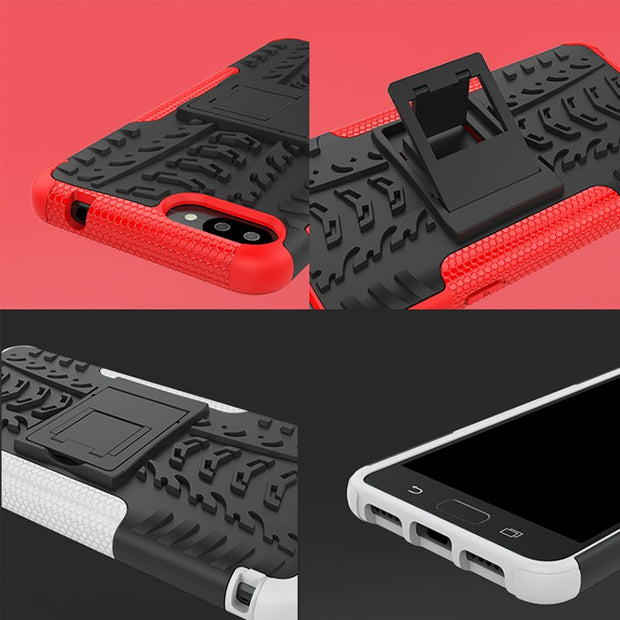 TAOYUNXI Armor Case For Asus Zenfone 4 Max ZC520KL Cases Silicone PC Hybrid Kickstand Heavy Duty Protection For ZC520KL Covers