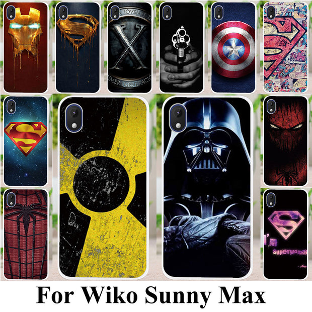 TPU Silicone Phone Cases For Wiko Sunny Max 4 0 Inch Flexible Cover Skin  Superman Case For Wiko Sunny Max Back Bag Cover