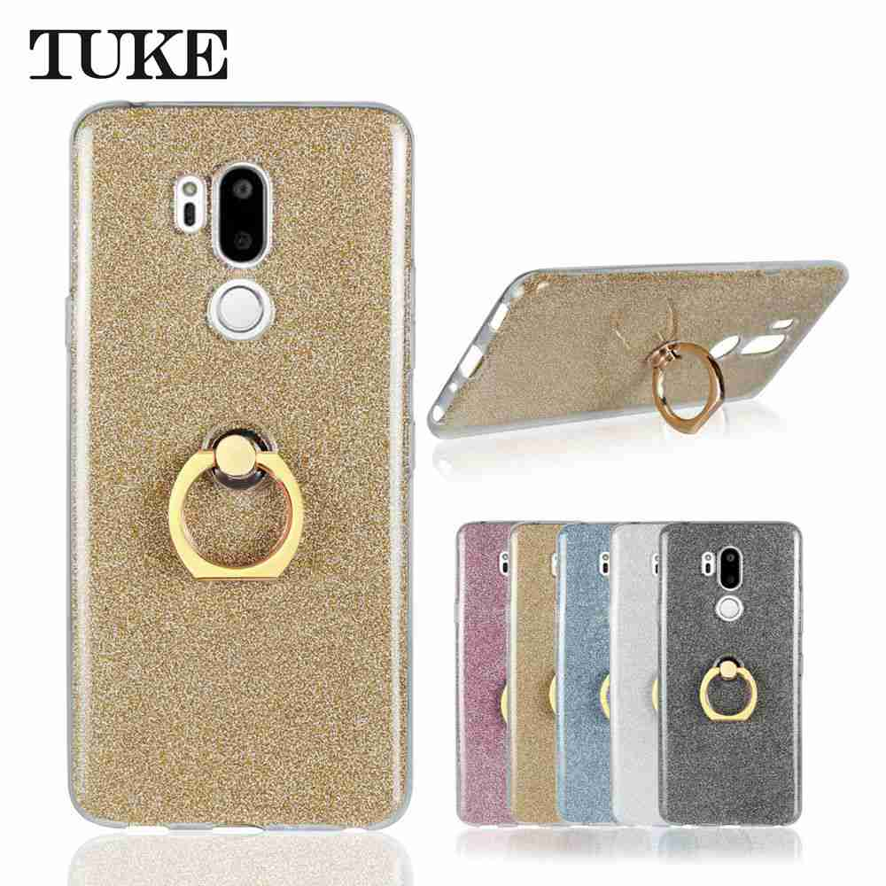 c73145cf314 TUKE Glitter Flash Cases For LG G7 Case 6.1 Inch Luxury Ultra-Thin Sho –  Charcoal Cases