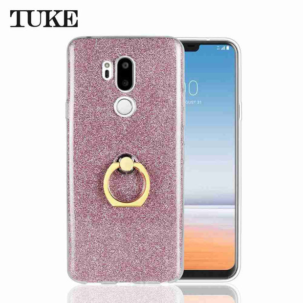 d72c5c863c4 TUKE Glitter Flash Cases For LG G7 Case 6.1 Inch Luxury Ultra-Thin  Shockproof Soft TPU Phone Cases For LG G7 G 7 Coque Fundas