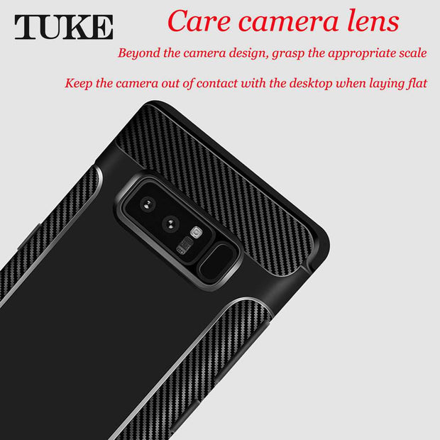 TUKE Phone Case For Samsung Galaxy Note 9 Case Soft TPU Silicone Back Cover For Samsung Note 9 Cover Cases For Samsung Note9