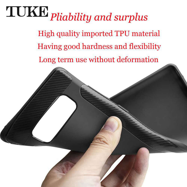 TUKE Phone Case For Samsung Galaxy S8 Plus G9550 Case Soft TPU Silicone Back Cover For Samsung S8 Plus G955F S8+ Cover Cases