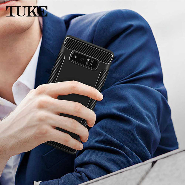 TUKE Phone Case For Samsung Galaxy Note 8 Case Silicon TPU Cover For Samsung Note 8 N950F Cover Case For Samsung Galaxy Note8