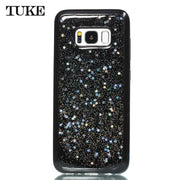 TUKE Soft Silicon Epoxy Pentagram Case For Galaxy S8 Case TPU Flexible Shell For Samsung Galaxy S 8 Cover