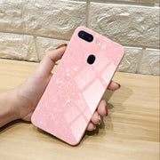 Tempered Glass Case For OPPO R15 R11S R11 R9 R9S Plus Luxury Hard Back Phone Cover For A57 A59 A79 A77 A83 A1 F7 F5 A73 A3
