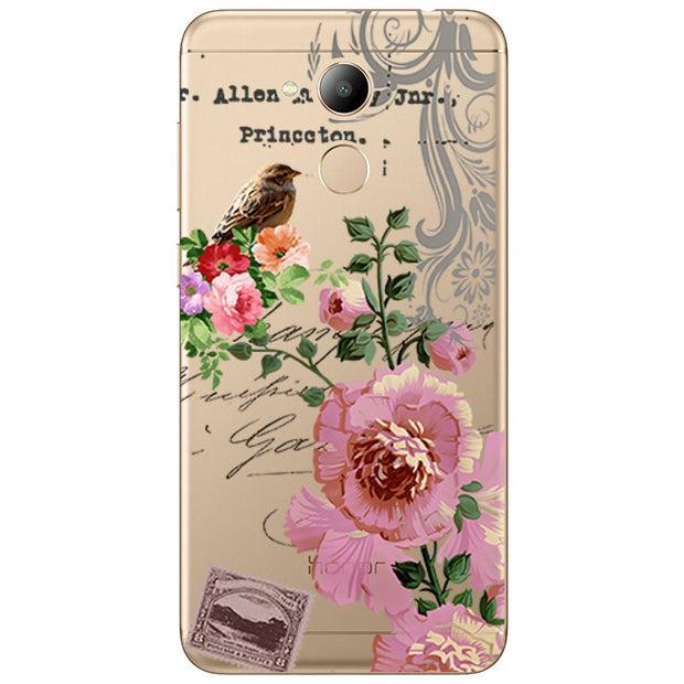 Tfshining Cases FOR Huawei Honor 6C PRO JMM-L22 Cases Cover Shell FOR Huawei Honor V9 Play TPU Capa Fundas For Honor 6C PRO Bag