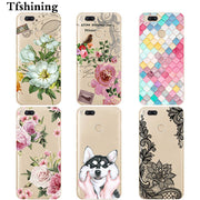 Tfshining Silicone Case For Xiaomi Mi 5X A1 Soft TPU Fashion Painted Cover For Xiaomi Mi A1 Mobile Phone Bags Case Shell Coque