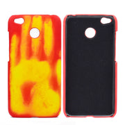 Thermal Sensor Fluorescent Color Changing PC Phone Case Back Cover For Redmi 4X Protective Phone Shell Wholesale Dropshipping