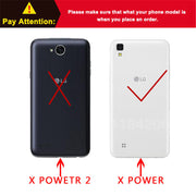 Thick Dynamic Liquid Phone Cases For LG X Power K210 K450 K220 K220DS K220y K220 LS755 US610 F750K Soft Silicon Back Cover