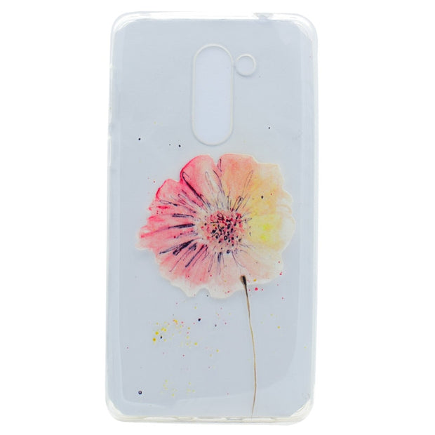 24729c372b Transparent TPU Cover For Huawei Honor 6X Case Colour Decoration Tower Bike  Butterfly Girl Design Phone