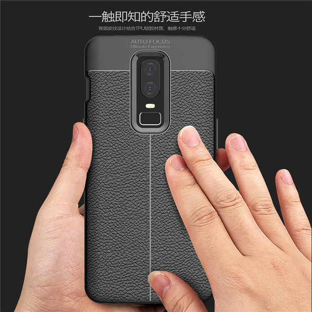 Ultra Slim Case For OnePlus 6 Case Luxury Soft Silicone Gel Protection Cover For One Plus Six 6.28 Inch Shockproof Phone Cases