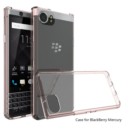 Ultra Thin TPU Acrylic Hard Case For Blackberry Keyone Transparent Crystal Clear Cover For Blackberry Keyone/Mercury/DTEK70 @