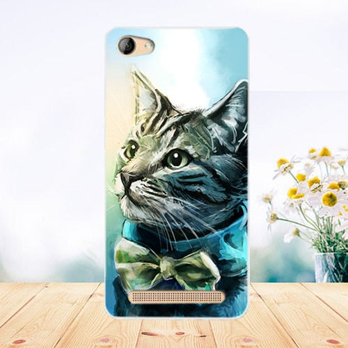 sports shoes 54ef2 90a9a WEVEYE Cases For Micromax Canvas Juice A1 Q4251 Painting Cover Soft TPU  Silicone Back Cover Phone Case For Micromax Q4251 Covers