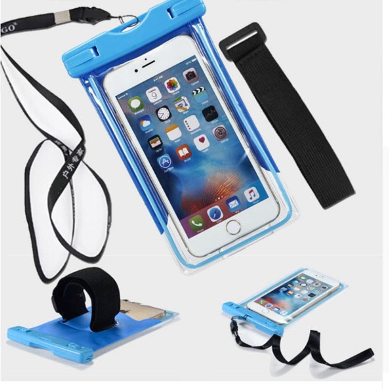 online store df39f 85f65 Waterproof Case For Huawei Honor 6a 6x 5c 8 Lite P9 Lite Y6 Ii Cover Diving  Underwater Pouch Dry Bag Phone Case Capa Covers Y6ii