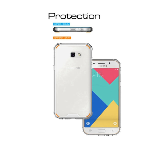 XBXCase TPU Bumper+Acrylic Transparent Hard Back Case For Galaxy S8/S8 Plus Note 8 S7 Edge A320 A520 A720 Hybrid Protect Case