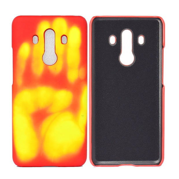 Xiaomi Redmi 4X Case Thermal Sensor Case For Huawei Mate 10 Pro Heat Sensitive Cover Phone Case For Huawei Mate 10 Redmi 4X Capa