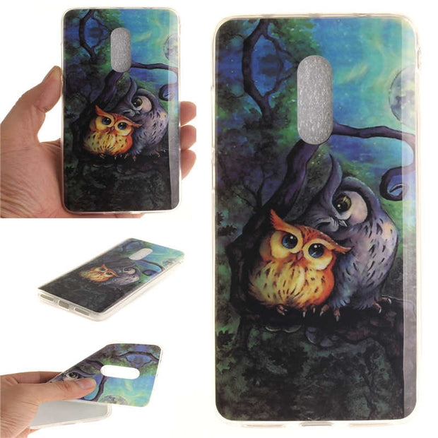 Xiaomi Redmi Note 4 Silicon Case Cute Animal Flower Anime Soft TPU Gel Back Cover Phone Case For Xiaomi Redmi Hongmi Note 4 Pro