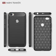Xiaomi Redmi Note 5A Case 5.5 Inch Full Protection Silicone Soft TPU Brushed Carbon Fiber Texture Case For Redmi Note 5 5A Cover