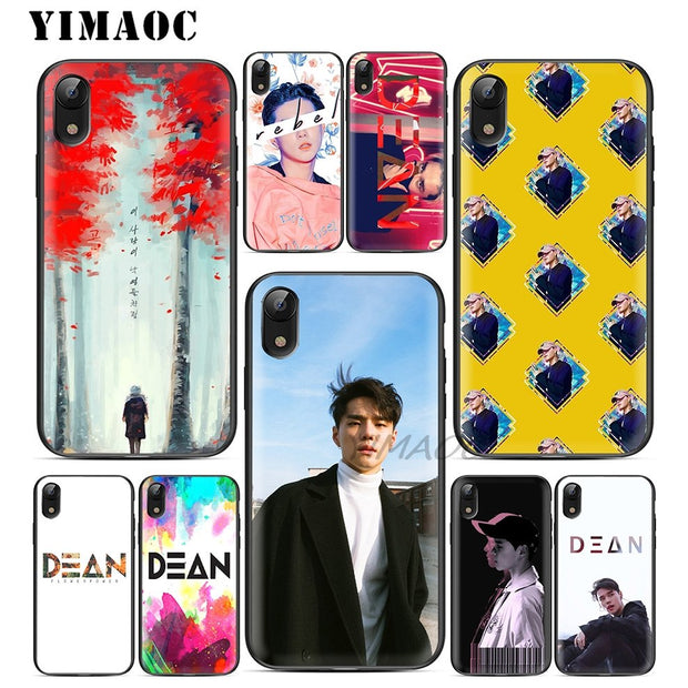 YIMAOC Dean Deanfluenza Singer Soft TPU Black Silicone Case For IPhone X Or  10 8 7 6 6S Plus 5 5S SE Xr Xs Max