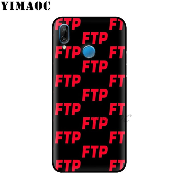 YIMAOC FTP CHILL Cool Logo Soft Silicone Case For Huawei