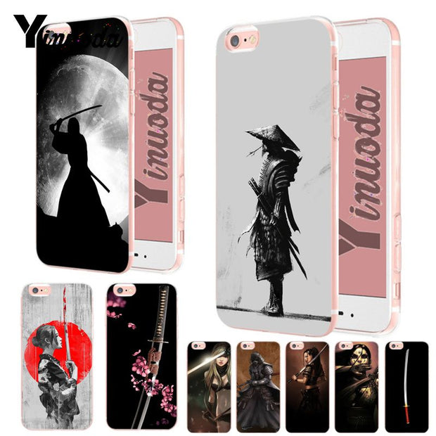 coque iphone 8 samurai