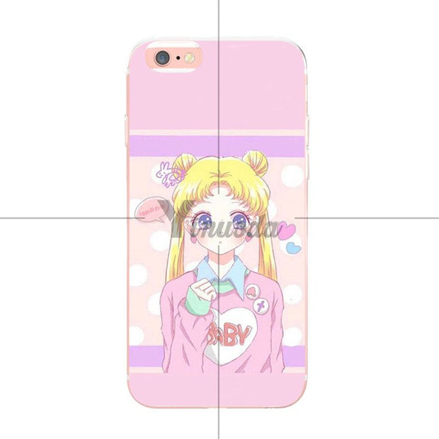Phone Bags & Cases Yinuoda Sailor Moon Colorful Phone Accessories Case For Iphone Xs Max 8 7 6 6s Plus X Xs Xr 5 5s Se Case Coque Cellphones & Telecommunications